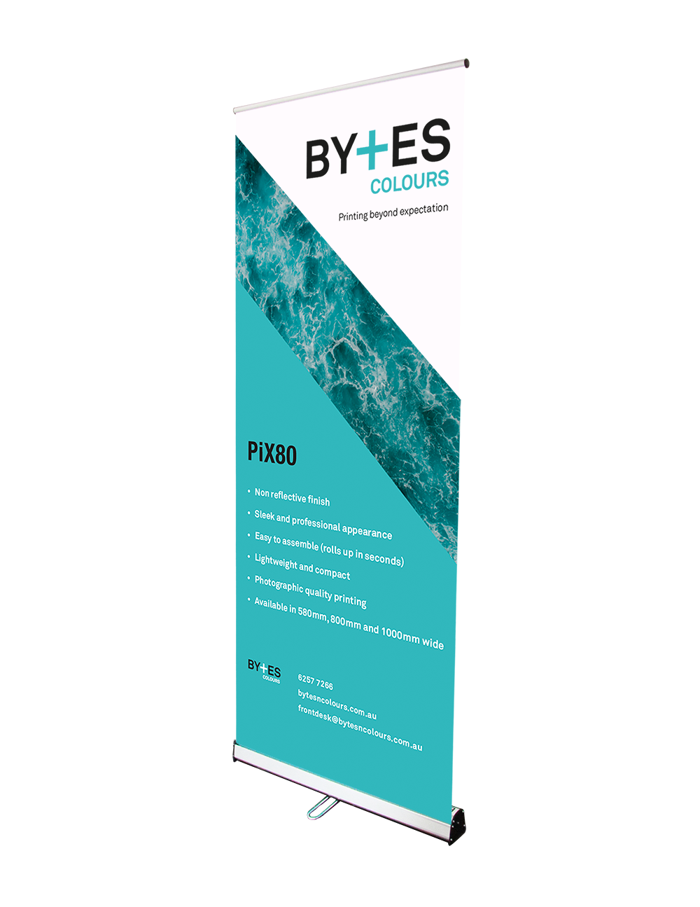 PiX 80 Pull Up Banner Signage System