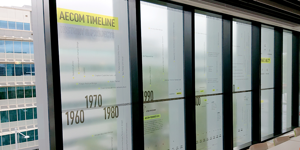 AECOM Timeline Display
